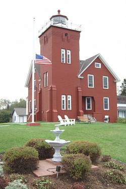 <p>The Lighthouse Tower and Keepers dwelling.</p>